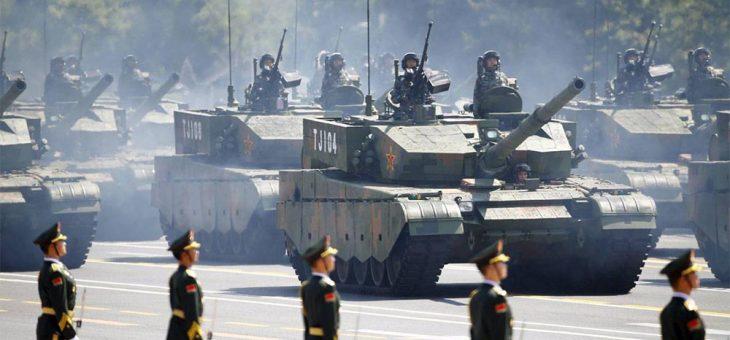 การพัฒนาทางด้านการทหารจีนทัดเทียมสหรัฐ