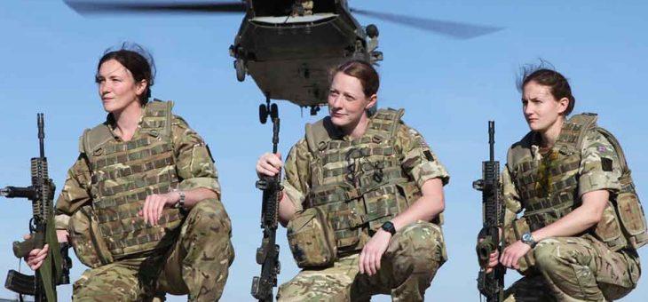 เหตุผลอะไรทำไมบางประเทศต้องเกณฑ์ทหารหญิง