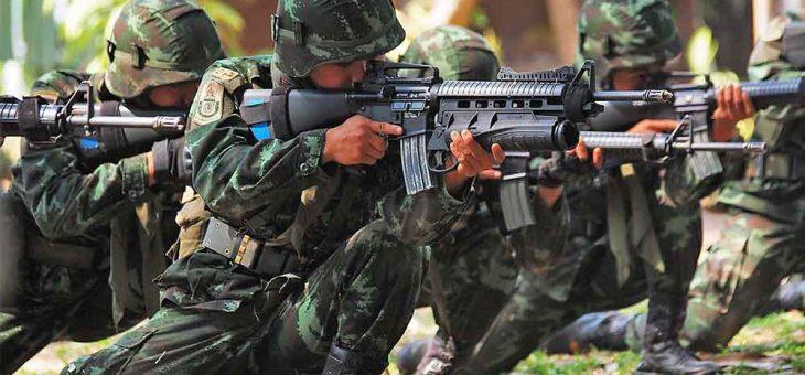 ประวัติทหารของประเทศไทย